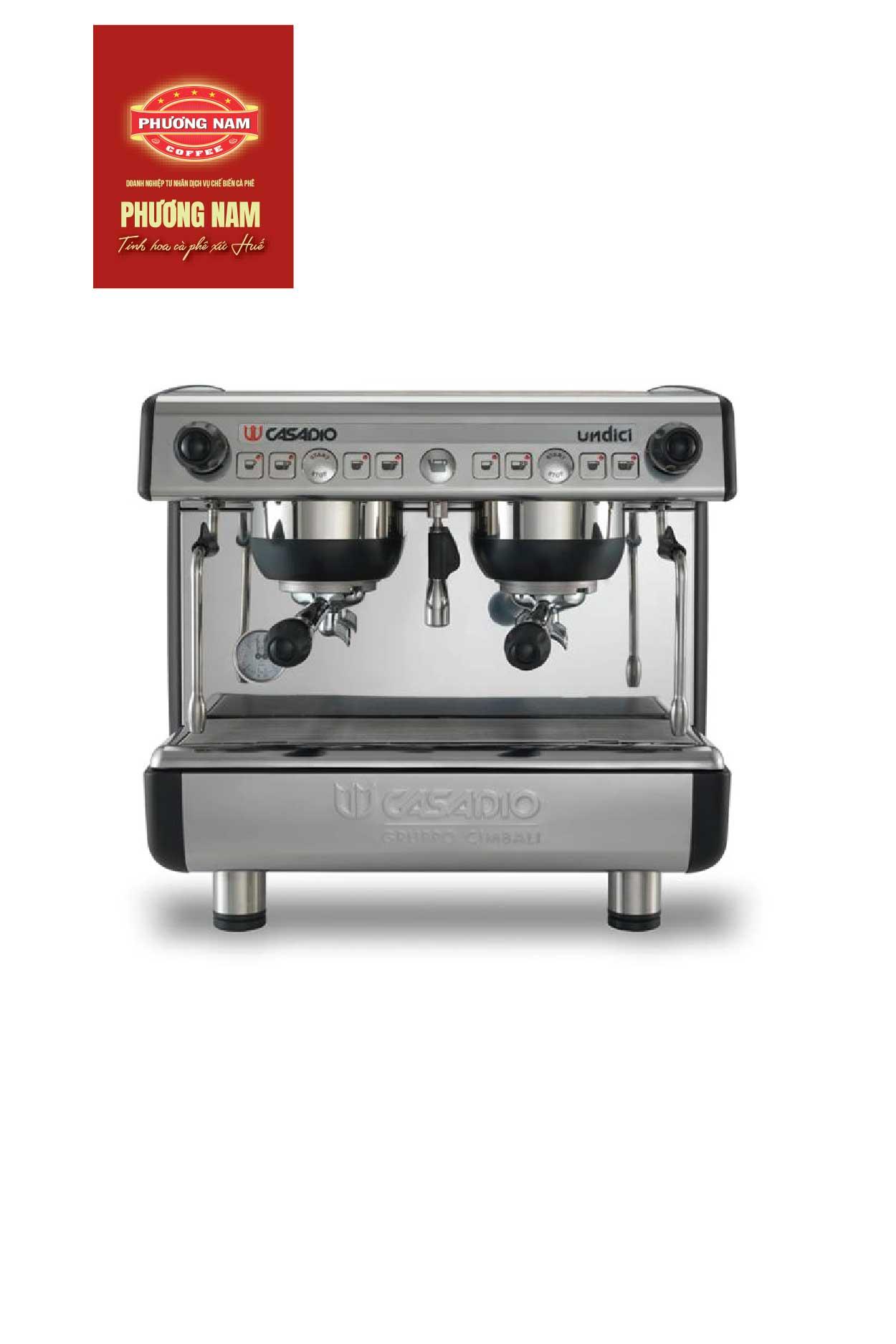 Máy pha cà phê nhập khẩu Casadio Undici A1